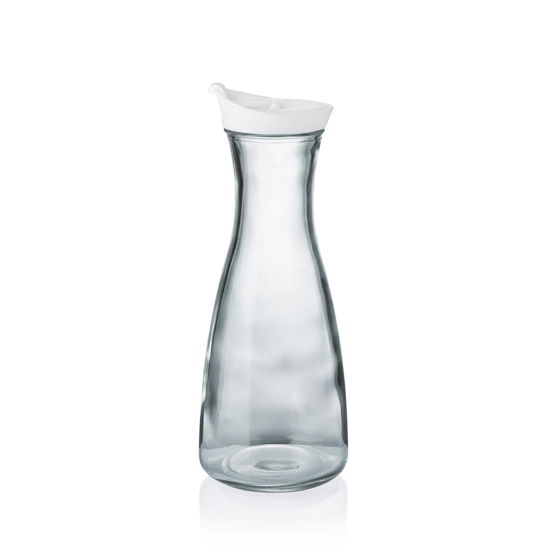 karaffe glas mit deckel billiger kaufen gastropreis24. Black Bedroom Furniture Sets. Home Design Ideas