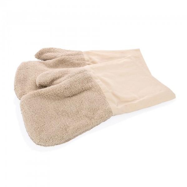 Hitzefausthandschuhe - Baumwolle - 2-teilig - extra preiswert