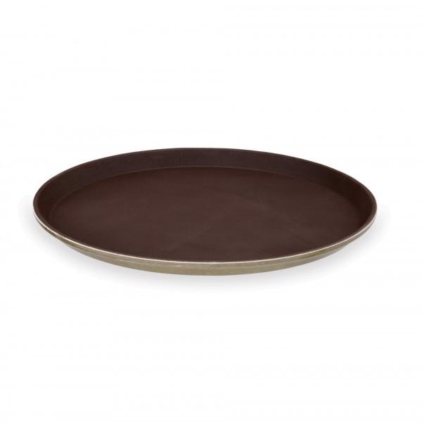 Tablett - Polyester - rund - rutschhemmende Oberfläche - 9530.360