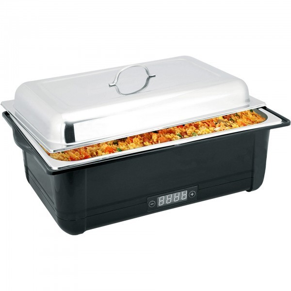 Elektro Chafing Dish - Kunststoff / Edelstahl - mit digitalem Display