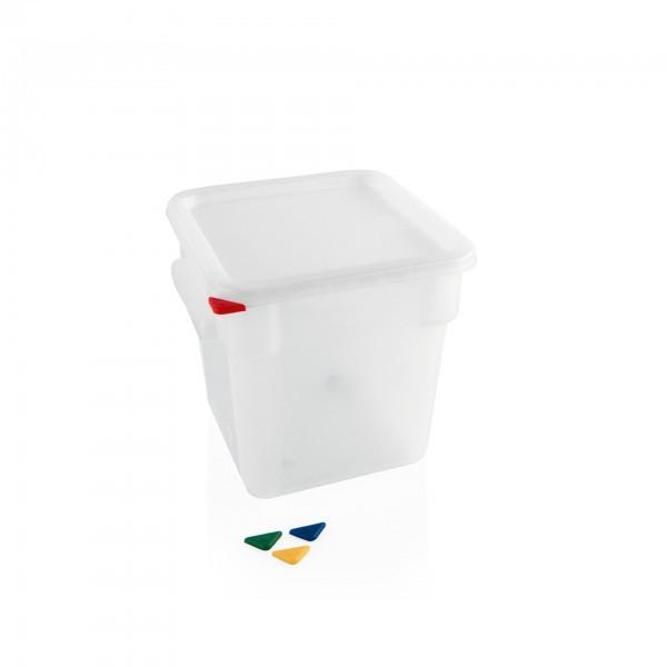 Vorratsbehälter - Polypropylen - quadratisch