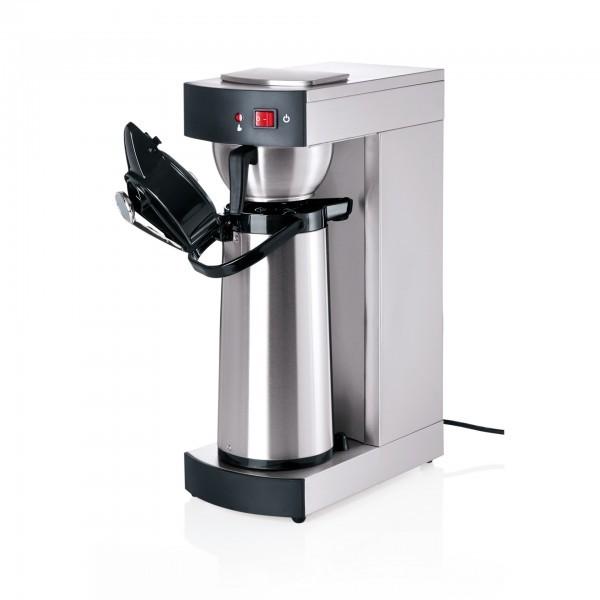 Kaffeemaschine - Chromnickelstahl - mit 2,2 l Thermopumpkanne