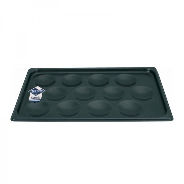 GN-Muffinblech - für 12 Muffins Ø 8,5 cm - Aluminium