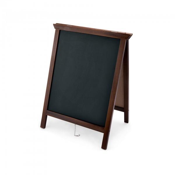Aufsteller - Holz - beidseitig beschreibbar - premium Qualität