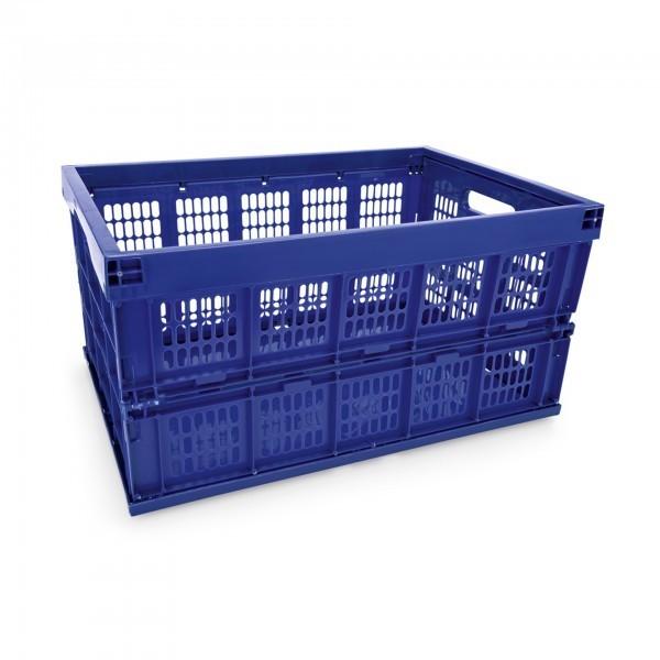 Transport- / Lagerkasten - Polypropylen - blau - zusammenklappbar - 9218528