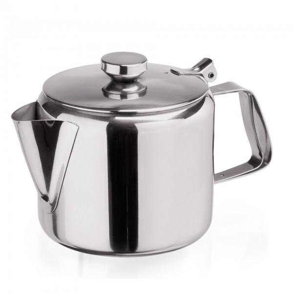 Teekanne - Chromnickelstahl - hochglanzpoliert