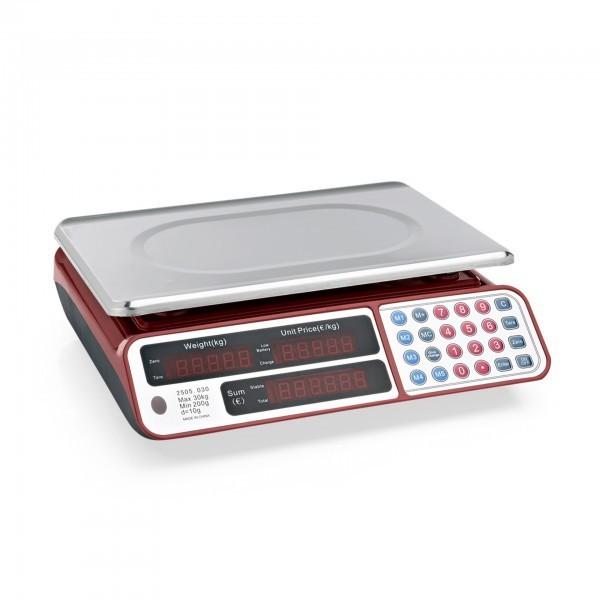 Digitale Waage - Wiegebereich bis 30 kg - extra preiswert