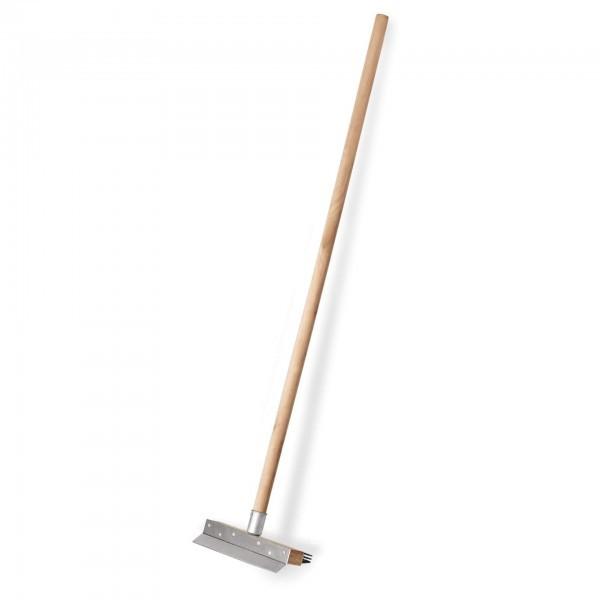Reinigungsbürste mit Schaber - Stahlborsten - 2295.150
