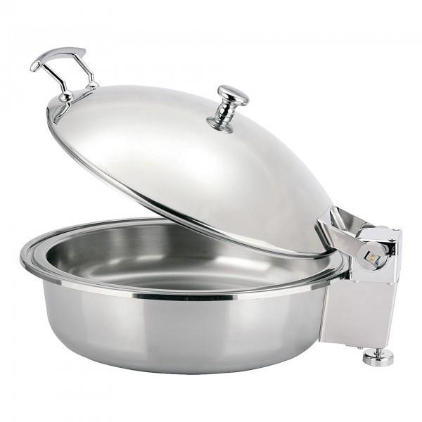 Chafing Dish - Chromnickelstahl - mit Speiseeinsatz