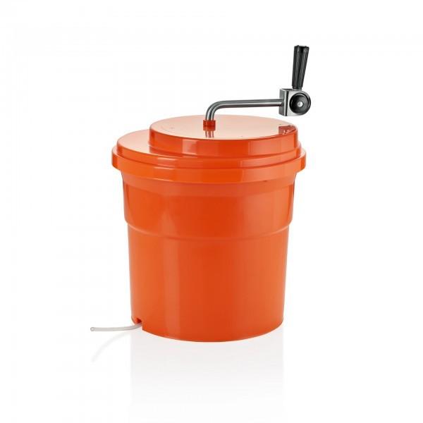 Salatschleuder - Polypropylen - mit Wasserablaufschlauch - extra preiswert
