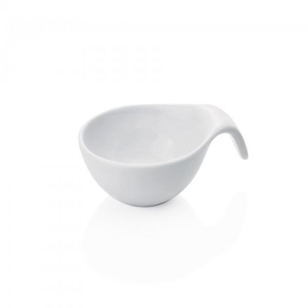 Mini-Schälchen - Porzellan - mit Griff