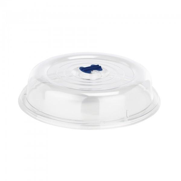 Tellerglocke - Kunststoff - mit Ventil