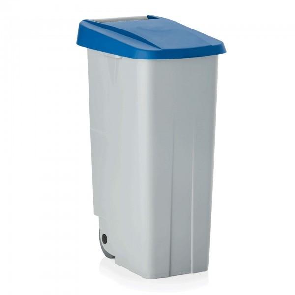 Abfallbehälter - Kunststoff - eckig - mit zwei Rollen - extra günstig - 9236.111