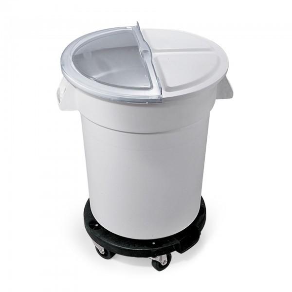 Zutaten- / Lagerbehälter - Polyethylen - Deckel aufschiebbar