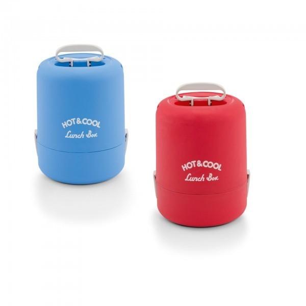 Thermospeisetransportbehälter - mit 2 Verschlußklammern - Kunststoff - div. Varianten