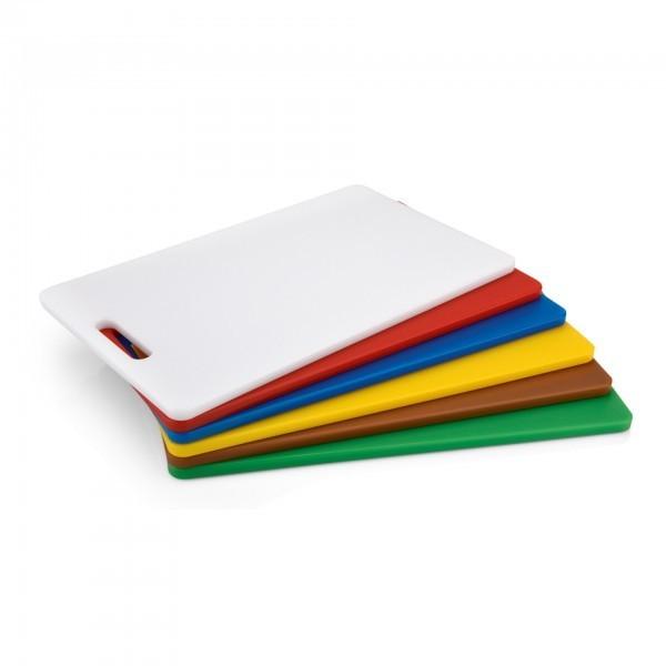 HACCP Schneidbrett - Polyethylen - versch. Farben - mit Griffloch