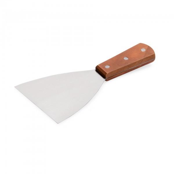 Spachtel - Edelstahl - mit Holzgriff