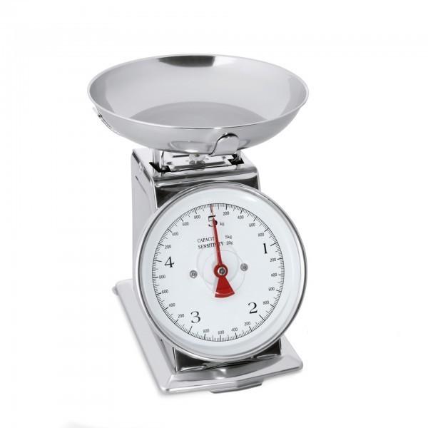 Waage - Edelstahl - Skalierung bis 5 kg – Unterteilung 20 g