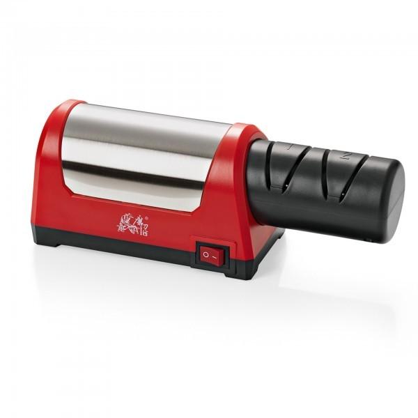 Elektrischer Messerschärfer - Grob- und Feinschliff - premium Qualität