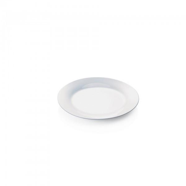 Teller - Porzellan - flache Ausführung - extra preiswert