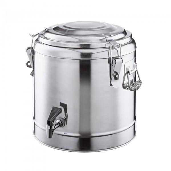 Thermogetränkebehälter - Chromnickelstahl - Deckel mit Dichtung - extra preiswert