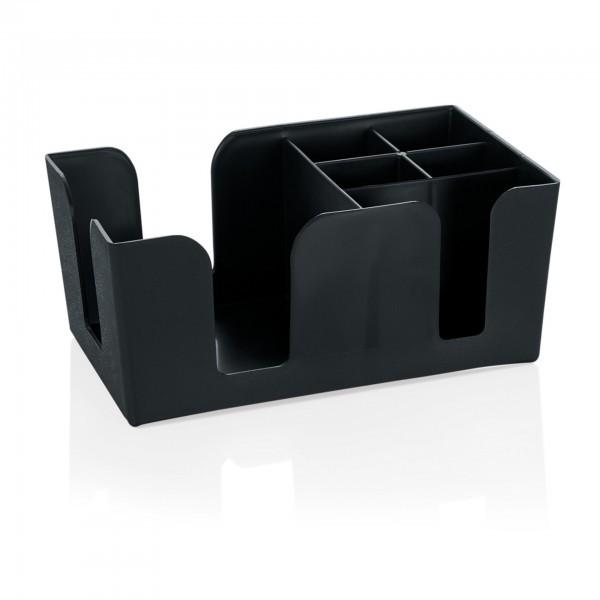 Bar-Caddy - Kunststoff - passend für Servietten 12,5 x 12,5 cm