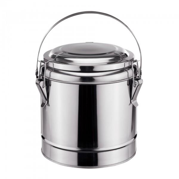 Thermospeisetransportbehälter - Chromnickelstahl - Deckel mit Dichtung - extra preiswert
