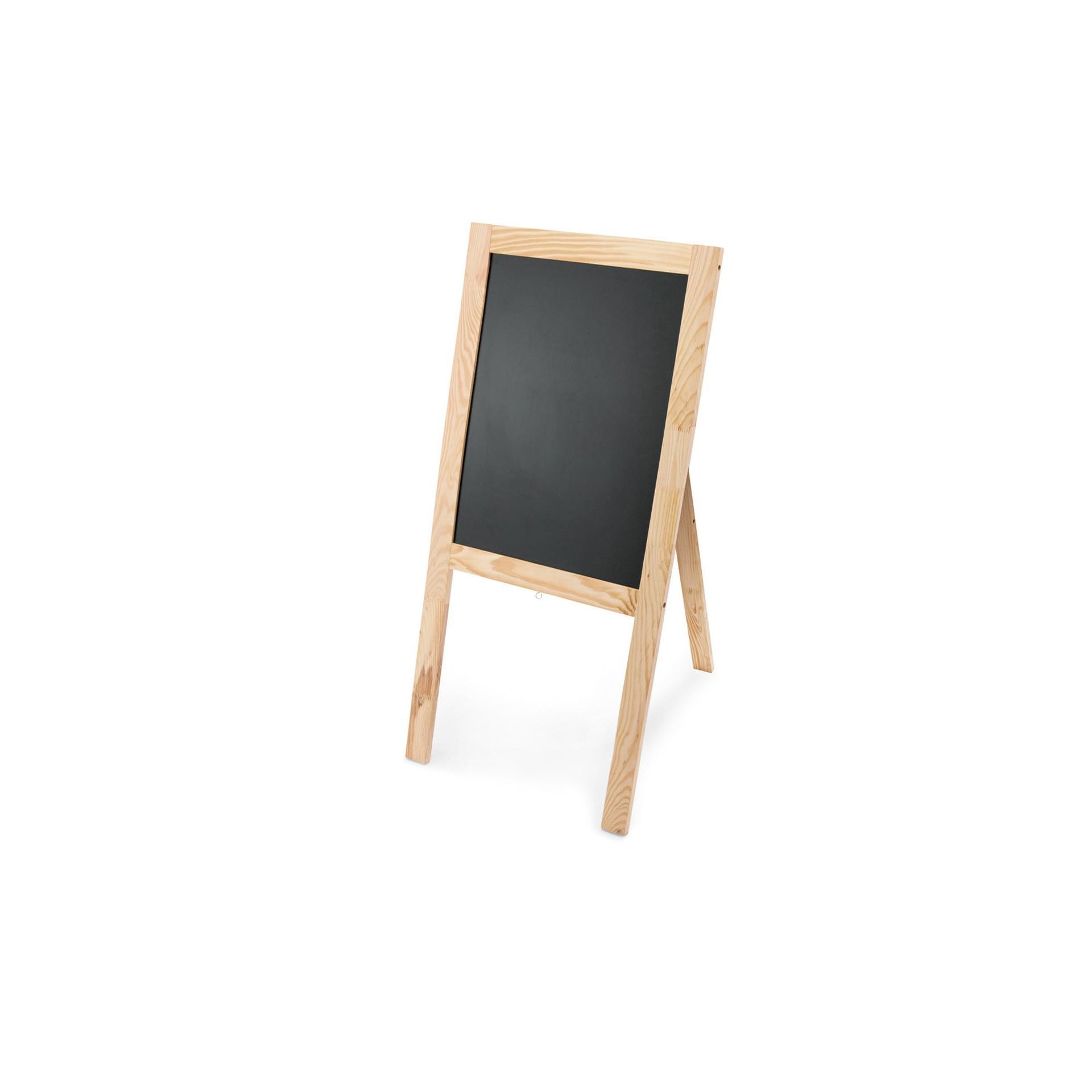 Aufsteller - Holz - mit Fuß - billiger kaufen - 4310.104