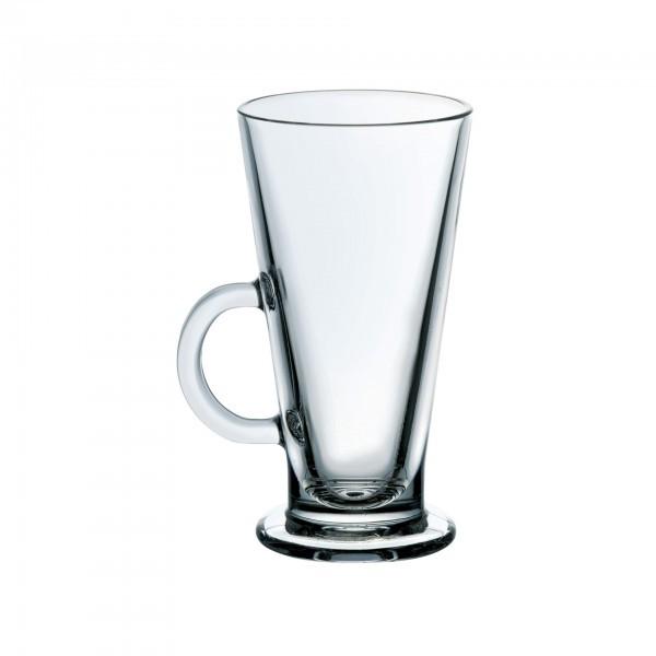 Eiskaffee-Glas - mit Henkelgriff