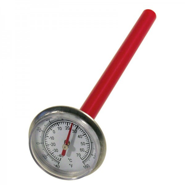 Einstech-Thermometer - Einstechtiefe 125 mm
