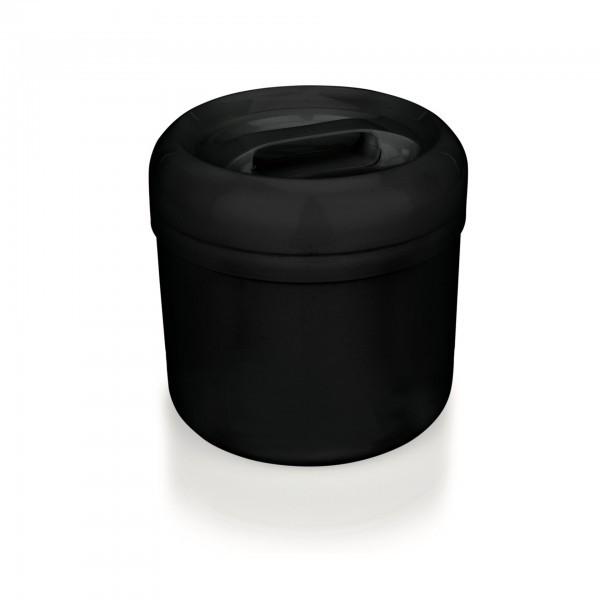 Eiseimer - Polypropylen - schwarz - rund