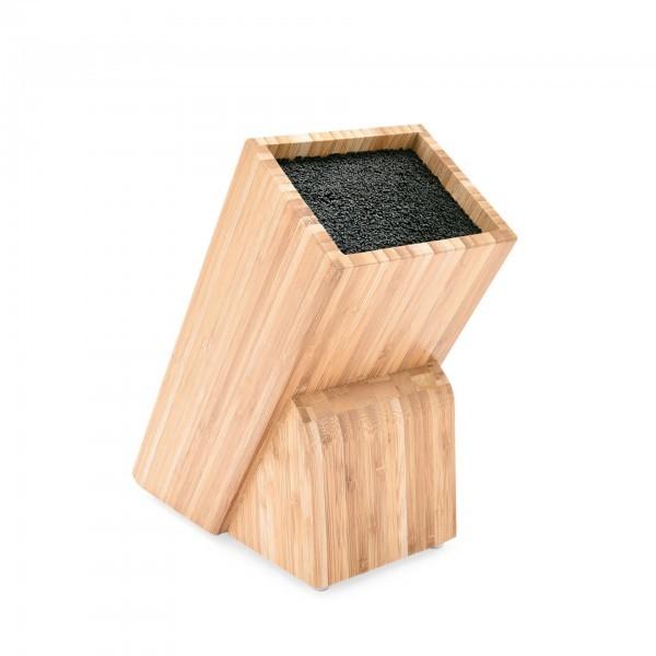 Messerblock - Holz - für Messer bis 22 cm Klingenlänge
