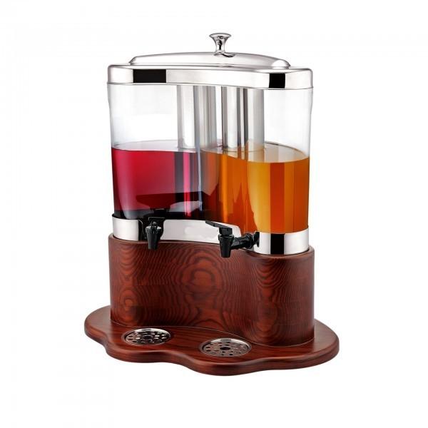 Getränkedispenser - Kunststoff / Holz - premium Qualität