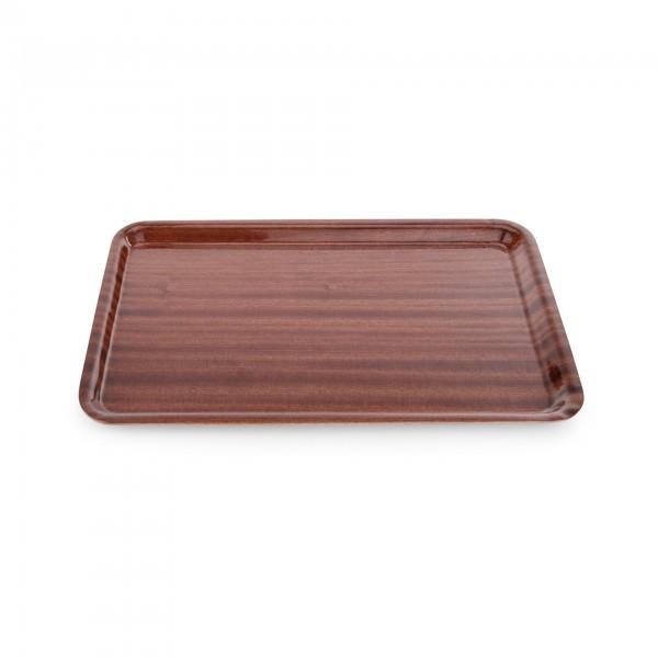 Tablett - Serie 9000 - Pressholz - rechteckig - rutschhemmende Oberfläche