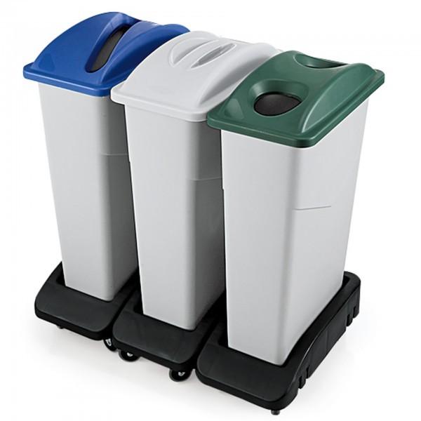 Deckel - Polypropylen - versch. Farben - für Abfallbehälter 9227 & 9250 - premium Qualität