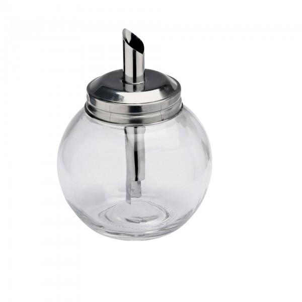 Zuckerspender - Glas - kugelform