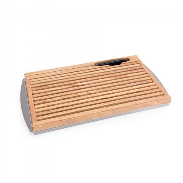 Brotschneidebrett - Holz - inkl. Brotmesser