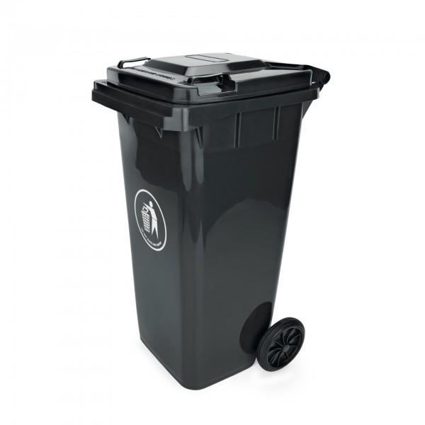 Abfalltonne - Kunststoff - versch. Farben - mit zwei Rollen