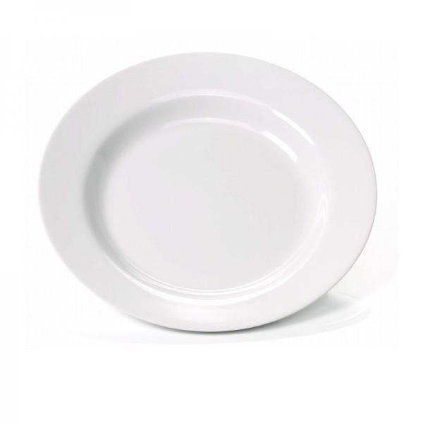 Teller - tief - Melamin - weiß - ab Ø 20 cm